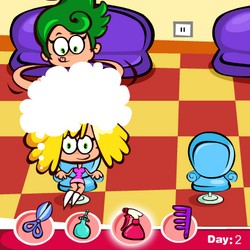 crazy hairdresser game